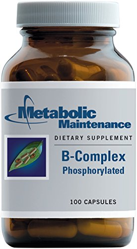 Metabolic Maintenance B-Complex Phosphorylated, with Methyl B12 and Methylfolate (5-MTHF), 100 Capsules