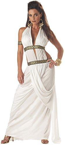 Womens Halloween Costume- Spartan Queen Adult Costume Small