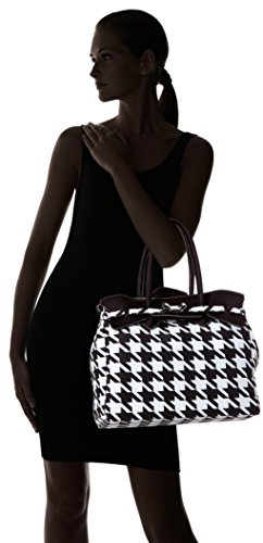 save Maxi Miss 4 Women's Handbag De Poule Pied 3 my Nero bag AU1xAr