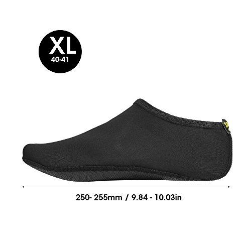 Black Socks Breathable Pair Summer Beach Sport Swim Alomejor Shoes Women 1 Men Unisex Skin qSxpwCO