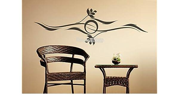 Ajcwhml Nuevo diseño Creativo Pared Sol y Vinilo Ondulado ...