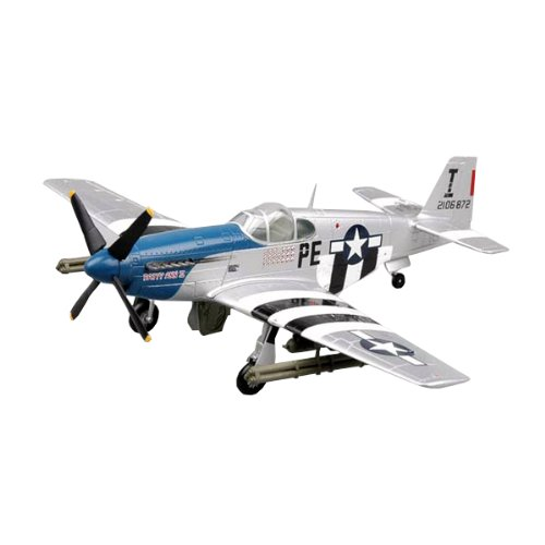 Easy Model P-51B Patty Ann II 42-106872 1st Lt. John F. Thornell Building (P-51b Mustang Fighter)