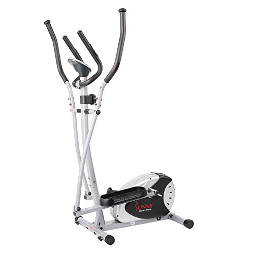 Magnetic Elliptical Machine Trainer by Sunny Health & Fitness - SF-E905