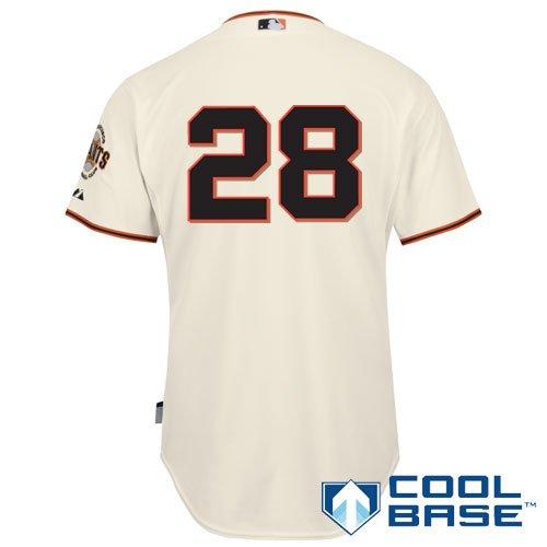 sneakers for cheap 52e88 e99ea Amazon.com: San Francisco Giants Authentic Buster Posey ...