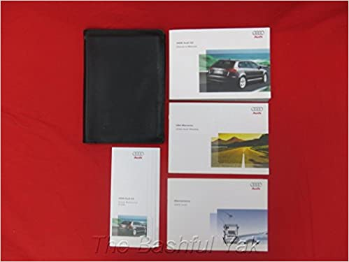 audi a3 owners manual 2006