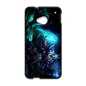 HTC One M7 Cell Phone Case Black Karthus League of Legends 07 Iakmk