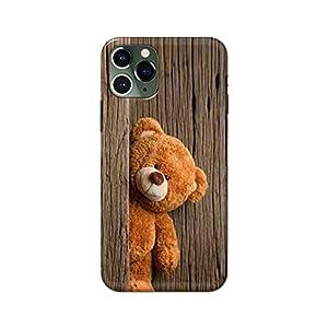 eStuffz for Apple iPhone 11 Pro Max Cute Teddy Design Pattern Hard Printed Stylish Light Weight Slim Designer Mobile…