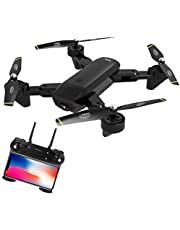 SG700-S Drone With 4K Camera Wide Angle Fordable RC Professional Quadcopter Wifi SG700S By PRIME TECH ™ (Black)