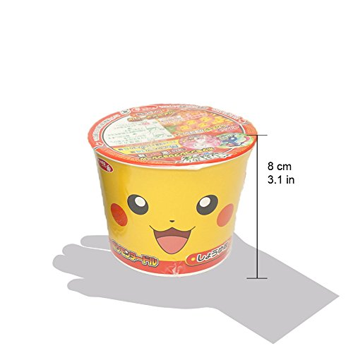 Pokemon Noodles (Soy Sauce Flavor & Seafood Flavor): each 2, total 4 (set F) by Pokémon