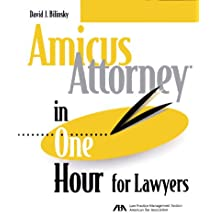 Amicus Attorney in One Hour for Lawyers