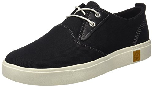Timberland Mens Amherst Plain Toe Canvas Oxford