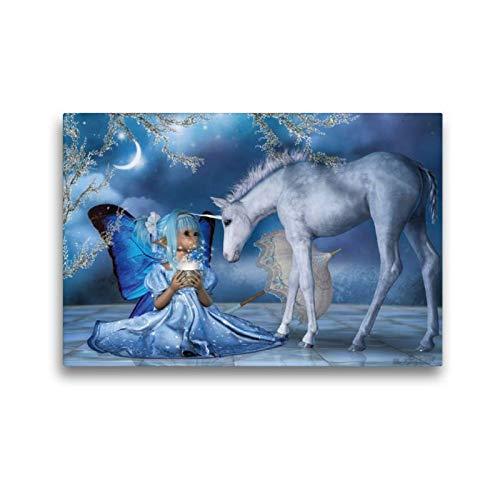 CALVENDO Toile Murale décorative en Tissu de qualité supérieure 45 cm x 30 cm