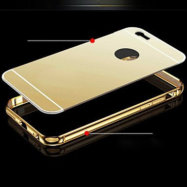 Store@urdoor Mirror Series   Luxury Plated Aluminum Metal Frame + Mirror Acrylic Back Cover Shell Case for LeEco Letv Le 1s