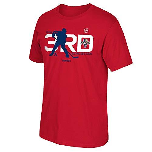 adidas Jaromir Jagr Reebok Florida Panthers Player Premier Red Jersey T-Shirt Men's