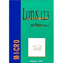 Lotus 1.2.3 pour windows v. 5
