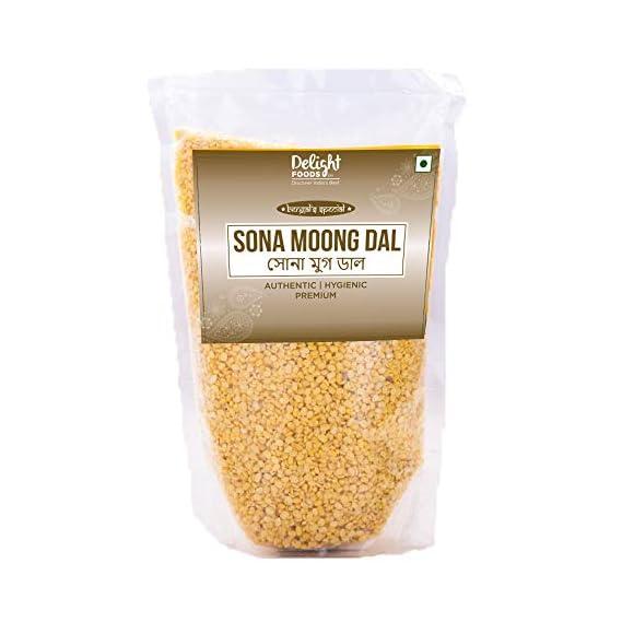 Delight Foods Premium Bengali Sona Moong Daal - 400g