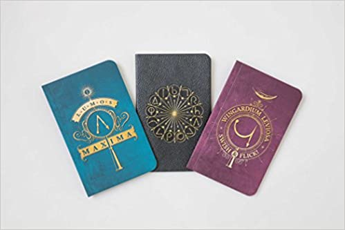 Amazon.com: Harry Potter: Spells Pocket Notebook Collection ...
