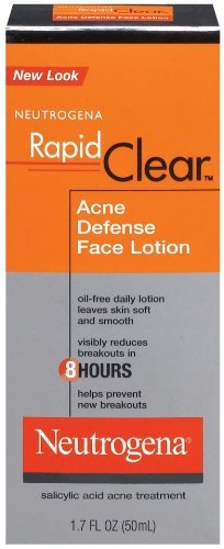 Neutrogena Rapid Clear Acne Defense Face Lotion 1.7 Fluid Ounce (50 ()