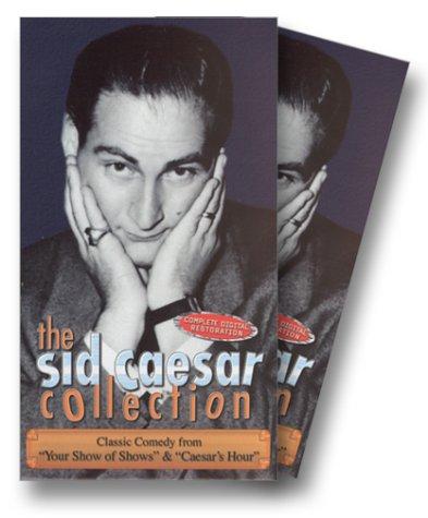 Caesar Three Light - Sid Caesar Collection - 3 Volume Gift Boxed Set [VHS]