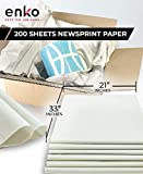 enKo Newsprint Packing Paper for Moving & Shipping