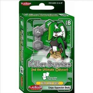 Killer Bunnies Red Booster Deck (Killer Bunnies Odyssey Crops Booster B)