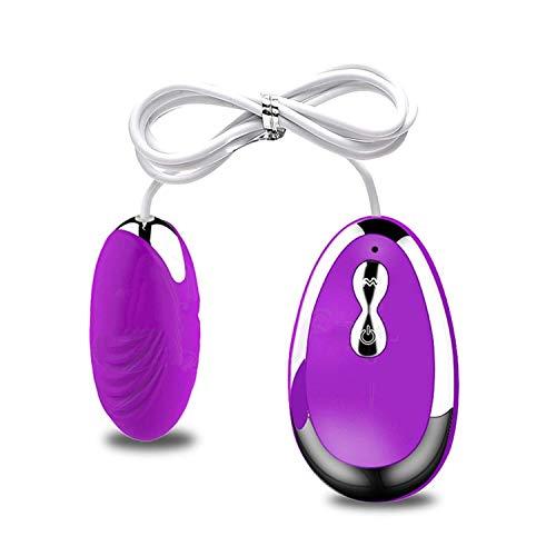 Wireless Remote Control Vibrating Egg Clitoris Stimulator Multispeed Mini Bullet Vibrator Sex Toys for Women Adult Products Purple Black,Purple