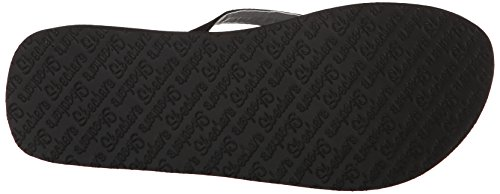 Black Women's Gem Flip Skechers Cali Vinyasa Flop Treasure qwffaC