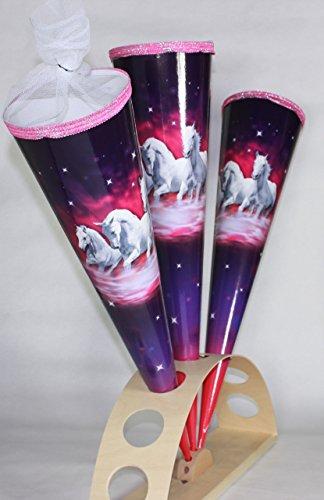 KidsCone Trio Horse (Round) Schultüte Zuckertüte (27