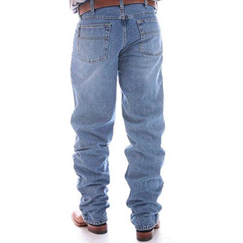 Cinch Men's Black Label Loose Fit Jean,  Stone Blast, 35W x 40L Black Label Mens Jeans