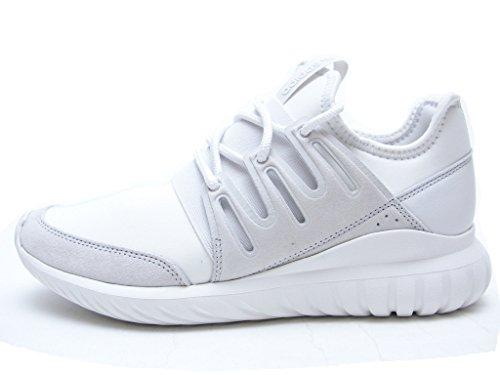 Adidas Men Tubular Radial (white / crystal white) Size 9 US