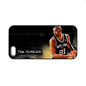 Generic Plastic Back Phone Case For Kid With Tim Duncan For 5S Apple Iphone Choose Design 2
