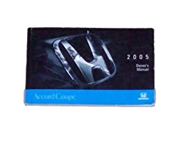 2005 honda accord coupe owners manual honda amazon com books rh amazon com 2004 honda accord owners manual online 2004 honda accord owners manual pdf