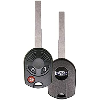 Keyless2Go New Keyless Entry Remote Key Replacement for Select Ford Escape Expedition Explorer Focus Fusion Lincoln Town Car and Other Vehicles That Use OUC6000022 164-R7040 2 Pack