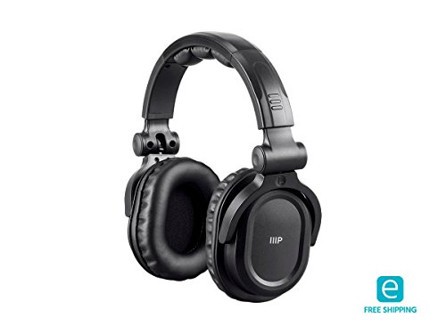 Monoprice Essentials Premum Hi-Fi DJ Style Over-Th...