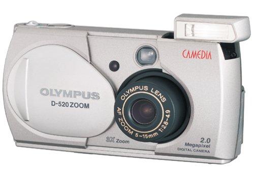 (Olympus Camedia D-520 2MP Digital Camera w/ 3x Optical Zoom)