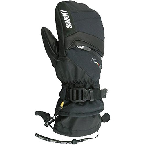 Swany Women's X-Change Mitt - Black, Medium