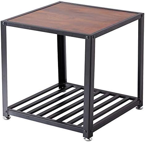 Loglus End Table/Side Table