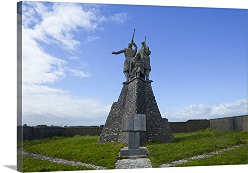 the-war-of-independence-memorial-at-shankhill-cross-elphin-ireland-gallery-wrapped-canvas