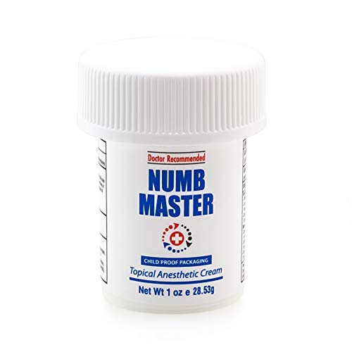 Clinical Resolution Non-oily Numb Master Topical Anesthetic Cream, 1 oz. (Best Way To Use A Pocket Pussy)
