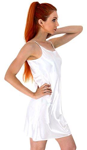 nightshirt-pajamas-sleepwear-sleep-shirt-satin-chemises-babydoll-slip-dress