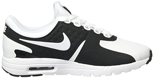 Nike Womens Air Max Zero Scarpa Da Running Nero / Bianco