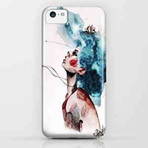 Society6 - A Calm Sea Never Made A Skilled Sailor. iPhone & iPod Case by Anya K