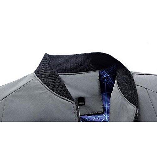 Dimensioni Da navy Manica Sottile Giacca Sportiva Primavera Grandi 170 Autunno Slim Uomo Lunga Comfort Casual fwgwp7x