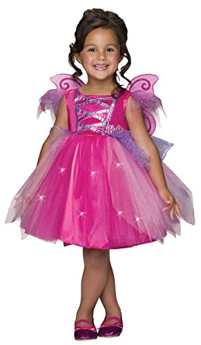 [Barbie Light-Up Fairy Dress Costume, Toddler] (Barbie Dress For Toddlers)