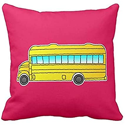 Amazon.com: Amarillo autobús escolar Americana Funda de ...