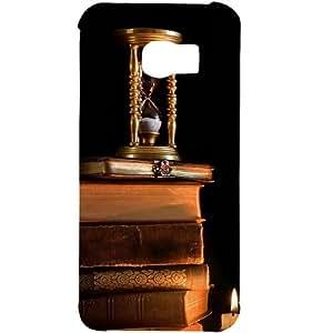 casotec Magic velas diseño de libros carcasa rígida para Samsung Galaxy S6