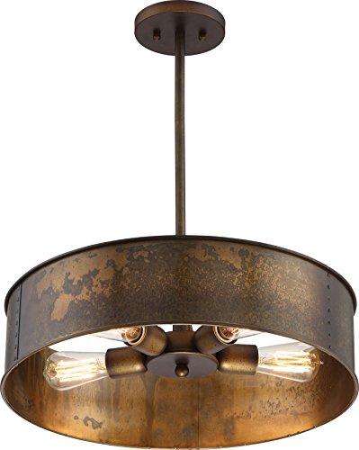 Nuvo Lighting 60/5894 Four Light - Four Pendant Drum Light