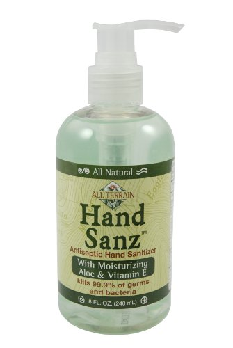 All Terrain HandSanz, Natural Hand Sanitizer, Moisturizing Hand Sanitizing Gel, Carbomer-free, Safe Antiseptic - The Miami Falls Stores
