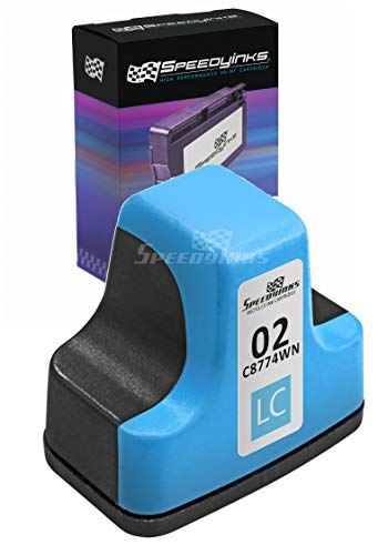 Speedy Inks Remanufactured Ink Cartridge Replacement for HP 02 (Light - Light D6160