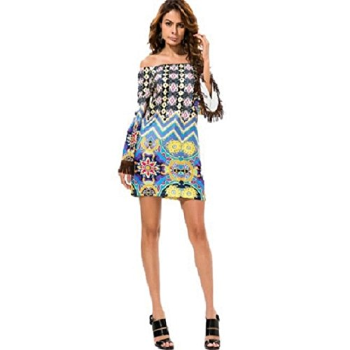 Culater® tirantes vestidos Tailandia de del de vestir borlas Armada mujeres estilo mujeres de nuevas largos corto Las manga rgw8SHxr